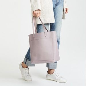 NWT Madewell Medium Transport Tote - Wisteria Dove